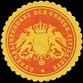 Siegelmarke Generalintendanz der Grossh. Civilliste W0350196.jpg