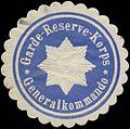 Siegelmarke Generalkommando Garde-Reserve-Korps W0337758.jpg