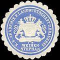 Siegelmarke Königlich Bayerische Akademie für Landwirtschaft und Brauerei in Weihenstephan W0225552.jpg
