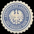 Siegelmarke K. Landrath des Kreises Znin-Pommern W0239833.jpg