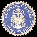 Siegelmarke Kaiserliche Marine - Werft zu Kiel W0224069.jpg