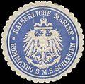 Siegelmarke Kommando S.M.S. Schlesien W0320329.jpg