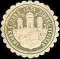 Siegelmarke Siegel Civitat Immen - Hausen W0215604.jpg