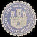 Siegelmarke Stadt Sulmierzyce Magistrat und Polizei Verwaltung W0385210.jpg