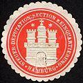 Siegelmarke Steuer - Deputation- Section für Einquartierung - Hamburg W0232408.jpg