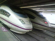 Siemens Velaro high speed