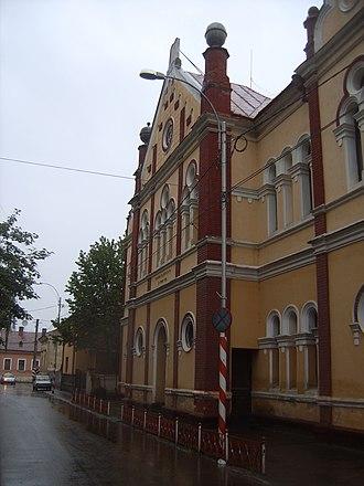 Sighetu Marmației - Image: Sighet synagogue
