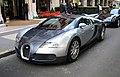 Silver Bugatti Veyron front left corner copped.jpg