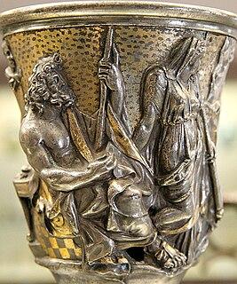 Hoard of Roman silver