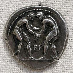 Silver stater obverse Aspendos Met L.1999.19.78