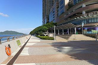 Island Resort (Hong Kong) - Siu Sai Wan Promenade along Island Resort and Island Resort Mall