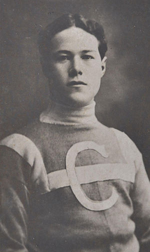 Skinner Poulin - Poulin with the Montreal Canadiens in 1910.