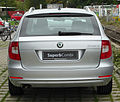 Skoda Superb II Combi 1.4 TSI Ambition rear 20100919.jpg