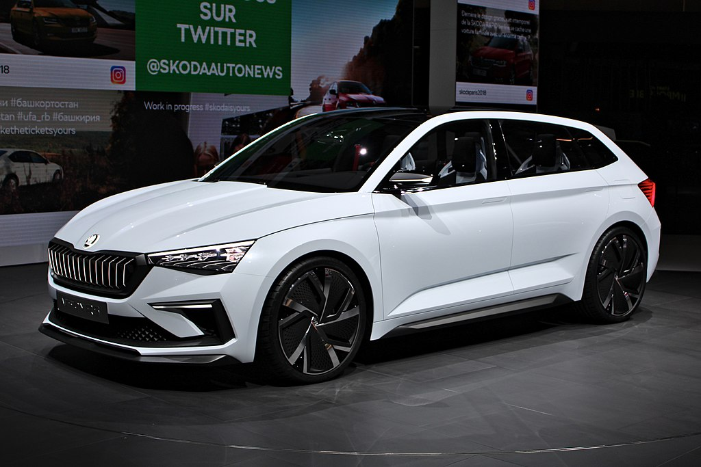 fichier skoda vision rs paris motor show 2018 img wikip dia. Black Bedroom Furniture Sets. Home Design Ideas