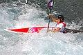 Slalom canoeing 2012 Olympics W K1 SLO Eva Tercelj (3).jpg