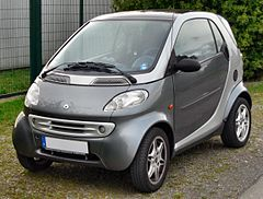 Smart Fortwo I przed liftingiem