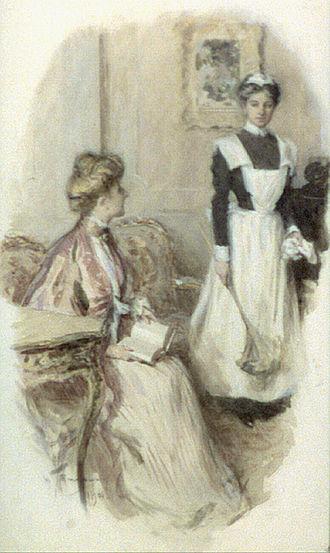 Maid - Smedley maid illustration 1906