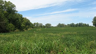 Utica Township, Clark County, Indiana - Countryside in the township