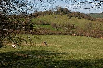 Ley line - Snodhill Castle in Dorstone