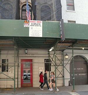 Society of Illustrators - Headquarters under renovation