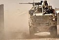 Soldiers Patrol in a Jackal Vehicle During Construction of Route Trident in Helmand, Afghanistan MOD 45152220.jpg