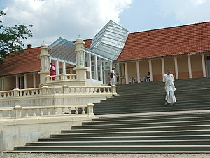 Somogyvámos - The temple of the Hare Krishnas in the Krishna valley