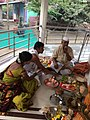 Somvati yag at Veerabhadra Devasthan Vadhav in presence of Balyogi Om Shakti Maharaj. 40.jpg