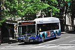 Sound Transit Gillig BRT bus 9205 in downtown Seattle (2014).jpg