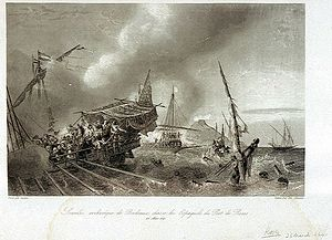 Naval Battle of Tarragona (July 1641) - Sourdis chases Spanish vessels into the port of Roses. The French admiral blockaded a number of towns and sustained several fights.