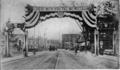 South Framingham Massachusetts Farewell Arch 1898 Spanish–American War.png