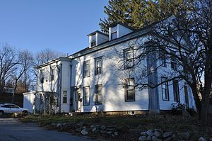 Theodore Harrington House - Image: Southbridge MA Theodore Harrington House