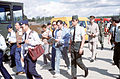 Soviet inspectors at RAF Greenham Common 1989.JPEG