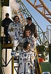 Soyuz TMA-3 crew receive final well wishes before launch.jpg