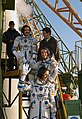 Soyuz TMA-3 crew receive final well wishes before launch.jpg