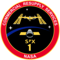 SpaceX CRS-1 Patch.png
