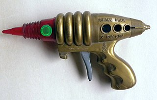 Raygun science fiction weapon