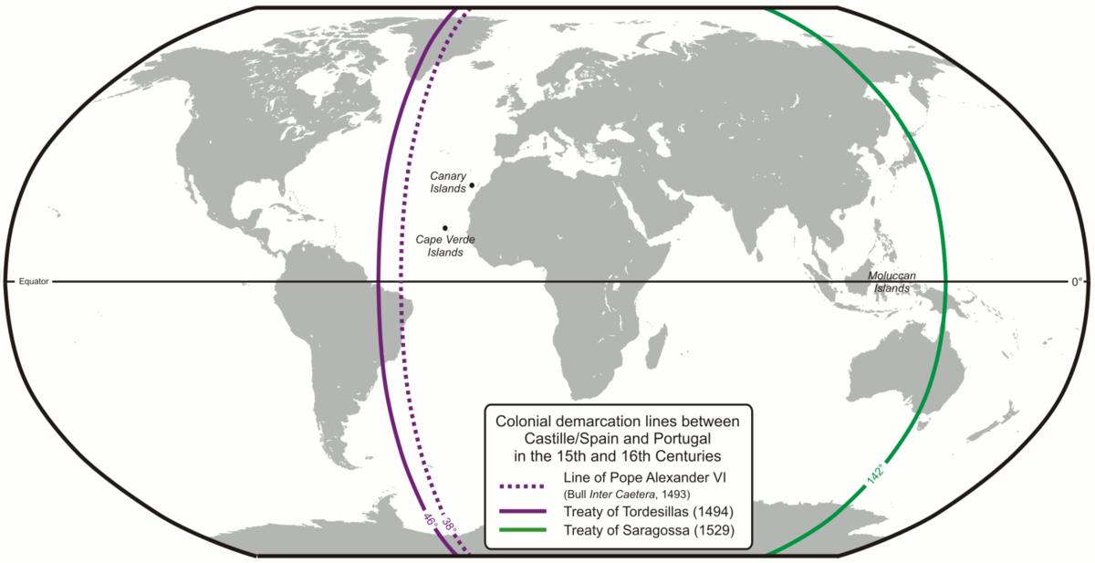 Treaty Of Zaragoza Wikipedia