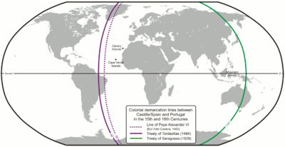 Treaty of Tordesillas - Wikipedia, the free encyclopedia