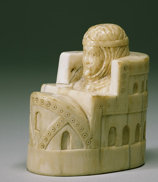 File:Spanish - Chess Piece of a Queen - Walters 71145 - Three Quarter.jpg