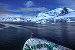 Spectacular cruise in the Gerlache strait, through the Aquirre Passage to Paradise Bay. (25882214182).jpg