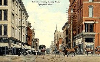 Springfield, Ohio - Image: Springfield Ohio c 1900
