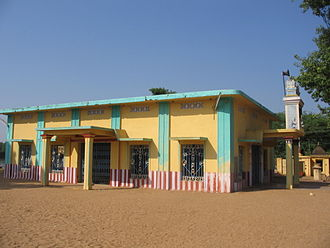 Tyagaraja - Image: Sri Tyagaraja Swamy samadhi mandir in Tiruvaiyaru