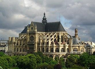 Saint-Eustache, Paris - Image: St. Eustache