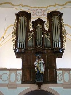 St. Pankratius in Herschwiesen - Orgel.JPG