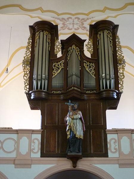 Datei:St. Pankratius in Herschwiesen - Orgel.JPG