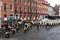 St. Patrick's Day Parade (2013) In Dublin - Purdue University All-American Marching Band, Indiana, USA (8565469625).jpg