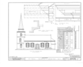 St. Paul's Episcopal Church, West Church and North Broad Streets, Edenton, Chowan County, NC HABS NC,21-EDET,1- (sheet 4 of 5).png