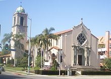 St. Timothy's Catholic Church, Pico & Beverly Glen, Los Angeles.JPG