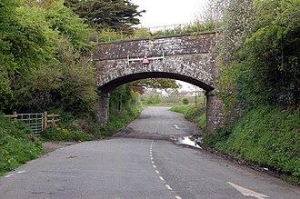 St Kew - Railway bridge at St Kew Highway