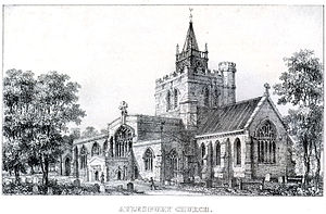St Mary the Virgin's Church, Aylesbury - St Mary's Church, Aylesbury (Pre 1869, exact date unknown)